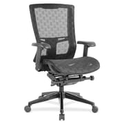 Lorell Checkerboard Design High,back Mesh Chair