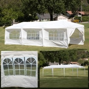 Belleze 10 Ft. W x 30 Ft. D Canopy; White