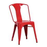 Buffalo Tools AmeriHome Side Chair (Set of 2); Red