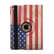 "iPM 360-Degree Rotary Stand Leather Case for iPad Pro (9.7"")-Vintage USA Flag (IPADGEO9US)"