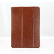 iPM Luxury PU Leather Smart Case for iPad Air-with Sleeping Function-Brown (PUSMRTCSEBN)