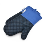 L.A Sweet Home Oven Mitt (Set of 2); Blue