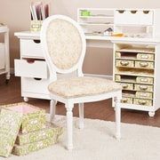 SEI Anna Griffin Craft Room Chair - White (BC4930)