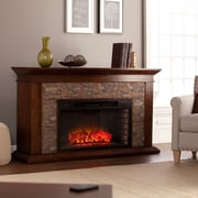 SEI Canyon Heights Simulated Stone Electric Fireplace (FE9023)