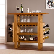 SEI Britton Console Bar - Weathered Oak  (HZ1030)