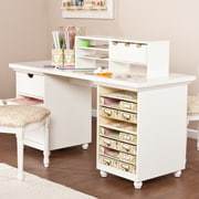 SEI Anna Griffin Craft Room Desktop - White (HZ4924)