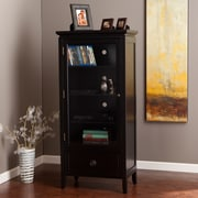 "SEI Caden 52.5 "" Storage & Display Tower - Black (MS1632)"