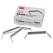 Standard Tempered Steel Prong Bases for Paper Fasteners, 2'' Capacity, 100/Box