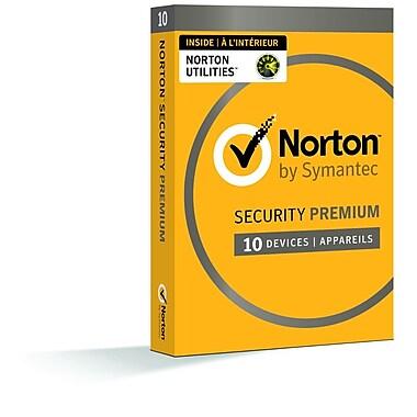 Norton Security Premium avec Norton Utilities, jusqu'à 10 dispositifs