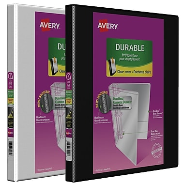 Avery® Durable Slant D-Ring View Binder, 3