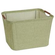 Household Essentials Open Storage Bin w/ Cloth Handle; Medium