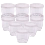 Household Essentials 12 Piece Lock Up Storage Container Set; 12 Ounce