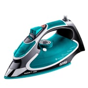 Eureka Razor Powerful Steam Burst Super Hot 1,500-Watt Iron, Blue/Gray