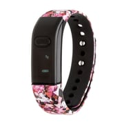 RBX Printed Activity Tracker with Caller ID and Notification Preview, Pink