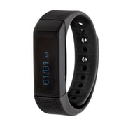 RBX Waterproof Activity Tracker with Notification Previews and Wrist Sense Technology, Black