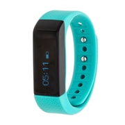 RBX Waterproof Activity Tracker with Notification Previews and Wrist Sense Technology, Turquoise