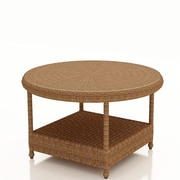 Forever Patio Catalina Chat Table; Straw