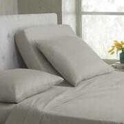 Martex 400 Thread Count 100pct Cotton Extra Deep Pocket Sheet Set; Silver