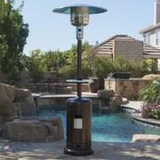 Belleze Commercial Propane Patio Heater; Bronze