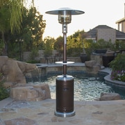 Belleze Commercial Propane Patio Heater; Hammered Bronze-Stainless Steel
