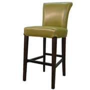 New Pacific Direct Bentley 26 inch Bar Stool w/ Cushion; Wasabi by