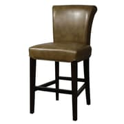 New Pacific Direct Bentley 26 inch Bar Stool w/ Cushion; Molasses by