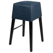 New Pacific Direct Aubin 31 inch Bar Stool w/ Cushion; Vintage Blue by