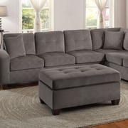 Homelegance Sectional Ottoman; Taupe