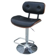 New Pacific Direct Emmerson Adjustable Height Bar Stool w/ Cushion