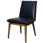 New Pacific Direct Pietra Bonded Leather Side Chair (Set of 2)