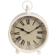 Laurel Foundry Modern Farmhouse 9'' Iron Clock