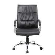United Chair Industries LLC Mid-Back Executive Chair; Black