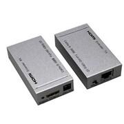 4XEM™ 50 m 1080p HDMI Over Double Cat5e/Cat6 Video Extender, Gray