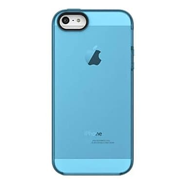 Belkin Grip Candy Sheer TPU Case for iPhone 5, Overcast/Civic Blue (F8W138TTC08)