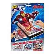 Crayola Color Alive Marvel Avengers Virtual Coloring Book (95-1063)