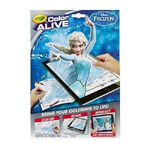 Crayola Color Alive Frozen Virtual Coloring Book (95-1064) IM14H9649