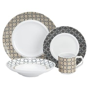 Cuisinart® 16-Piece Dinnerware Set, Off-White (CDP01-S4WL)