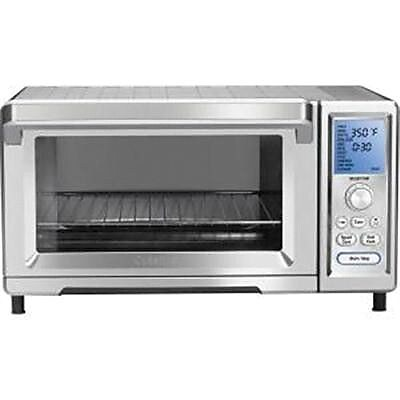 Cuisinart 0.95 cu. ft. Chef's Convection Toaster Oven, Stainless Steel (TOB-260N1) IM14T7965