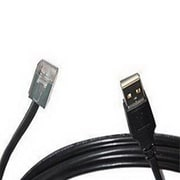 Datalogic 14.76' USB Data Transfer Cable for 2200VS Bar Code Scanner, Black (8-0732-04)
