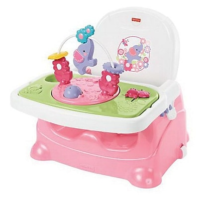 Fisher-Price Infant Pretty Pink Elephant Booster Seat (BMB79) IM14T7370