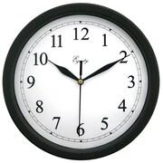 "LaCrosse® Equity® 10"" Black Analog Wall Clock (25203)"