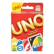 Mattel® Uno Matching Card Game, Red/Blue/Green/Yellow (42003)
