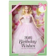 Mattel® Barbie 2016 Birthday Wishes Doll, Pink (DGW29)
