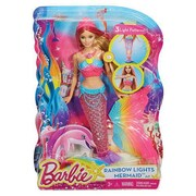 Mattel® Barbie Rainbow Lights Mermaid Doll (DHC40)