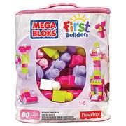 Mega Bloks® First Builders Big Building Bag Toy, Pink (DCH62)