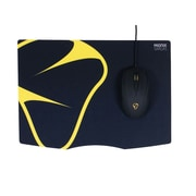 "Mionix® Sargas Woven/Cloth/MicroFiber 10.2""H x 14.6""W Textured Black Gaming Mouse Pad, MNX-04-25001-G"