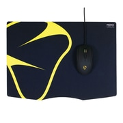 "Mionix® Sargas Woven/Cloth/MicroFiber 12.6""H x 17.7""W Textured Black Gaming Mouse Pad, MNX-04-25002-G"