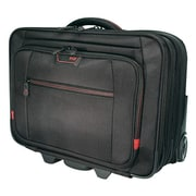 Mobile Edge® Professional Black Ballistic Nylon Rolling Carrying Case (CSE4-BLK-9N)