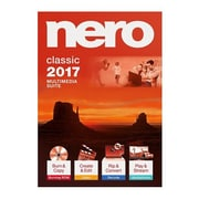 Nero 2017 Classic Software Suite, Windows, Download (AMER-10070010/555)