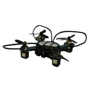 Odyssey X-4 Nandrone Smallest RC Quadcopter Toy, Black, 14 Years and Up (ODY-7555BL)